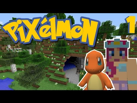 Lets play pixelmon ep 1 charmander i choose you amy - Pixelmon ep 1 charmander ...