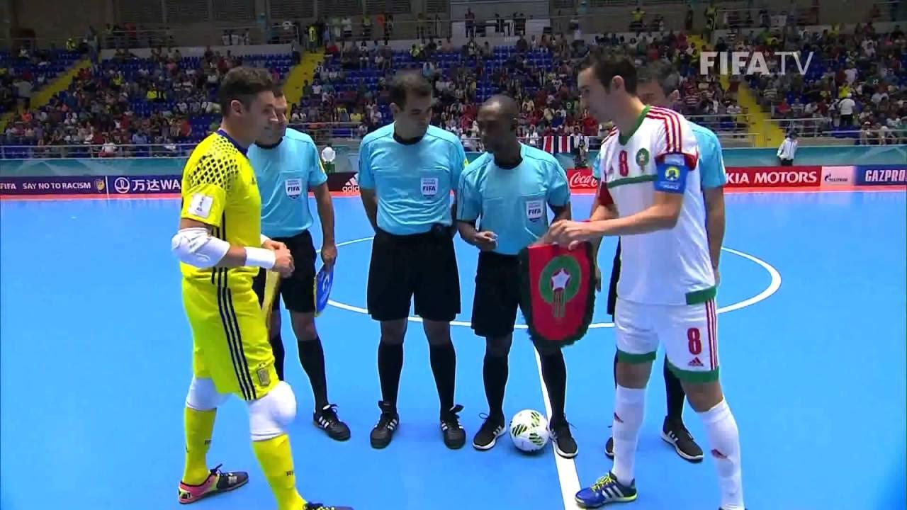 Video: Futsal Tây Ban Nha vs Futsal Morocco