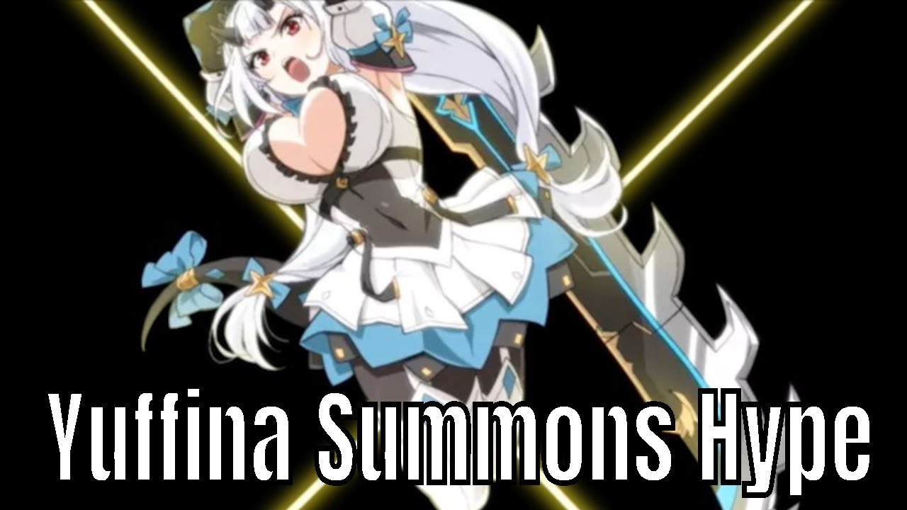 Epic Seven (에픽세븐): Yuffina Summons Hype 14 Tries