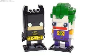 LEGO BrickHeadz Batman & Joker review! 41585 & 41588