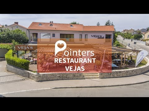 Restaurant Vejas — Island Krk, Croatia | DRONE FOOTAGE | Pointers Travel