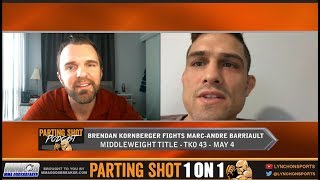 Brendan Kornberger talks TKO MMA middleweight title fight May 4