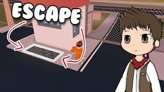 NEW WAY TO ESCAPE * SEWER * Roblox Jailbreak in Spanish