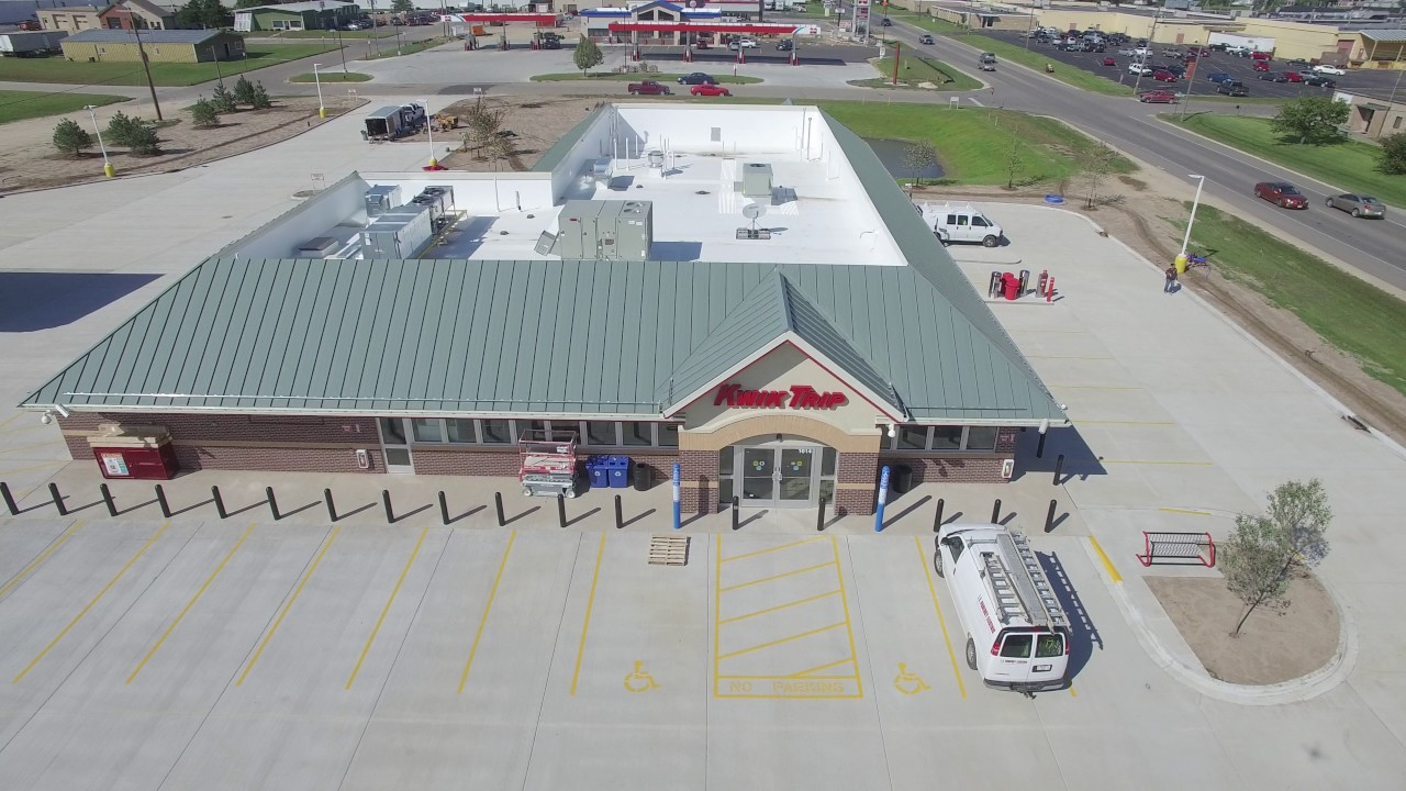 Kwik Trip, Sparta Wisconsin   Commercial Roofing Project By Interstate  Roofing