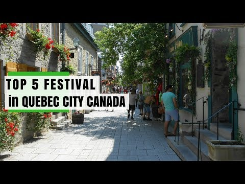 QUEBEC CANADA Travel Guide, 5 Tourist Attractions that you must visit.