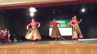Gallu gallenutha gejje and Ghagra performance by Shwetha,Shilpa and Akshatha.