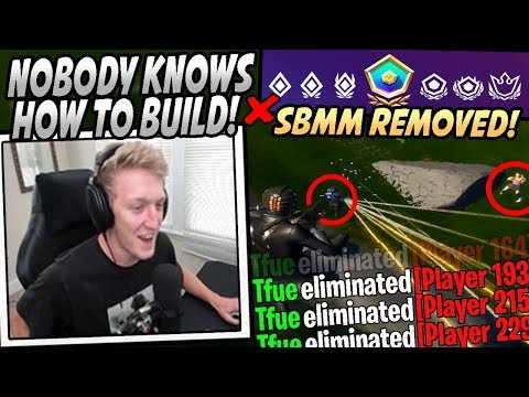 Tfue FREAKS OUT After Epic REMOVES Skill Based Matchmaking From Fortnite & He Drops 30! from YouTube · Duration:  10 minutes 20 seconds