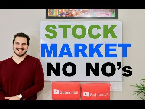 Stock Market For Beginners HUGE MISTAKES I Made