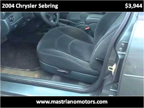 2004 chrysler sebring used cars salem nh youtube for Mastriano motors llc diesel land truck kingdom salem nh