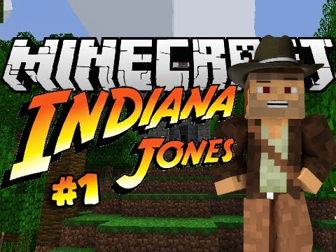Minecraft: Indiana Jones & The Herobrine Staff - THE INDIANS ARE COMING! #1 - Custom Map