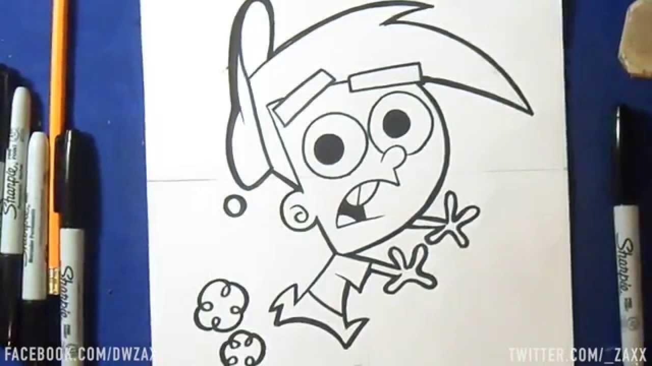 Comment dessiner timmy turner mes parrains son magiques youtube - Mes parrain son magique ...