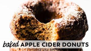 Baked Apple Cider Donuts {vegan, gluten-free, paleo}