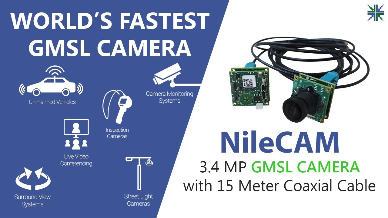 3 4MP GMSL Camera with 15 Meter Coaxial Cable | Support both USB Interface  and MIPI Interface