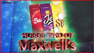 Обзор Новых вкусов Maxwell's | Jelly, Split и Baikal