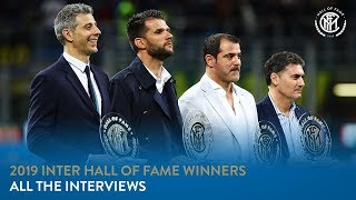 The exclusive interviews given to inter tv by four hall of fame 2019 winners prior vs chievo: francesco toldo, dejan stankovic, giacinto f...