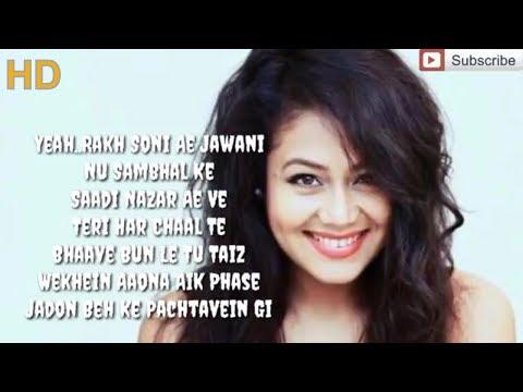 La La La - Neha Kakkar ft Kanungo | Bilal Saeed | Full Song (Lyrics Video) Songslover.pk