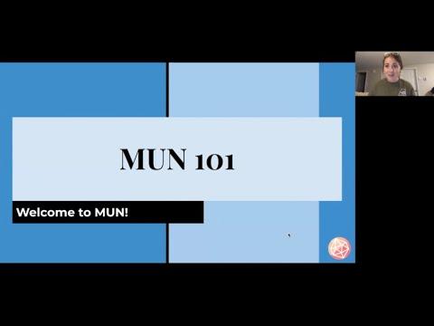 MUN 101 Session