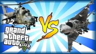 Savage VS Hydra! PART 1 of 2 - Who will win? GTA 5 Online