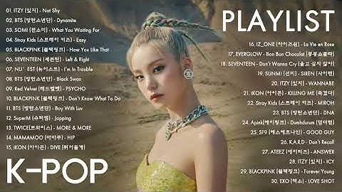 Lagu Korea Terbaru 2020 - Lagu Kpop - ITZY, BTS, Somi, Stray Kids, Blackpink, Seventeen, Nu'est
