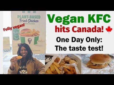 Vegan Chicken At KFC - One Day Only!!