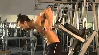 Jud Dean - Lean Forward Dips (Bodybuilding)