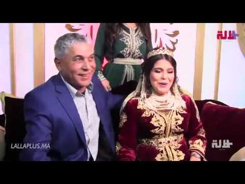 """الستاتي سعيد بزواج ابنته ويوجه لها نصيحة: """"الصبر باش تطولوا"""" !"""