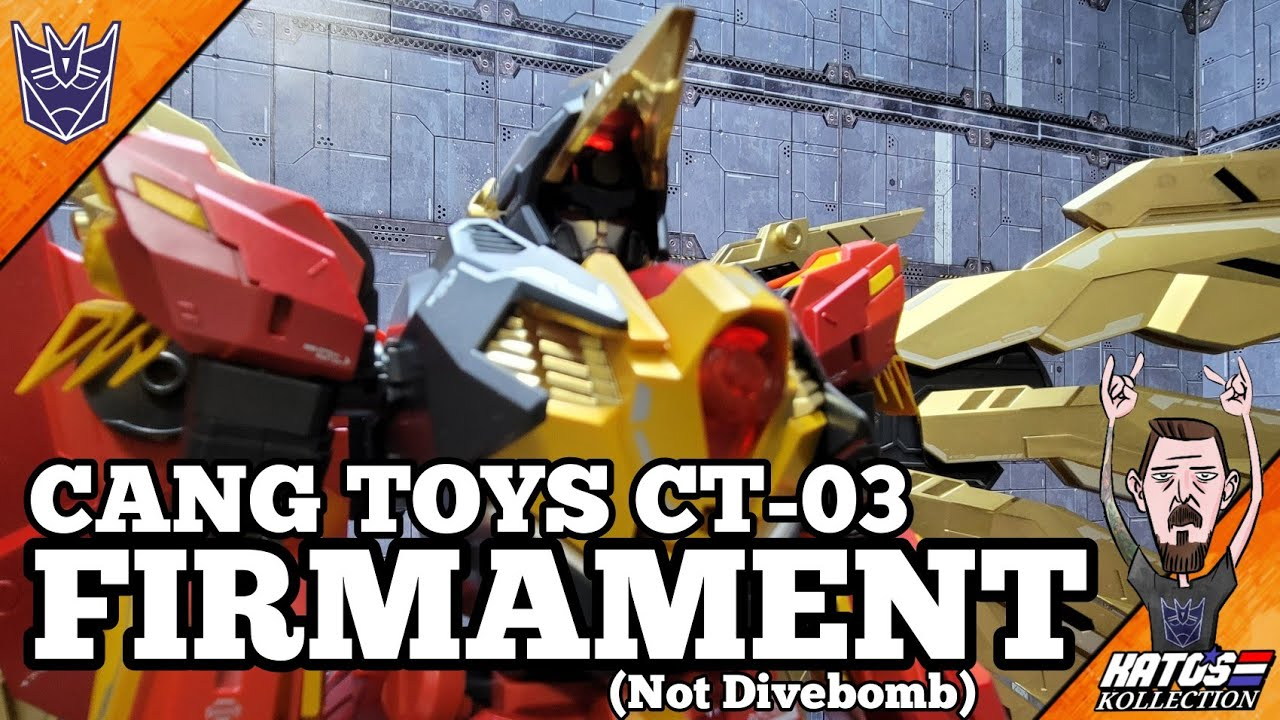 Cang Toys Firmament (Divebomb) Review by Kato's Kollection