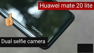 Huawei mate 20 lite selfie dual camera  (price in pakistan and specifications)