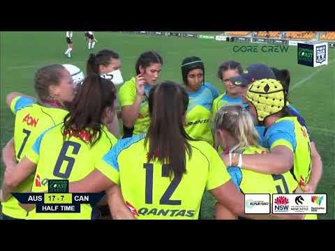 2017 Central Coast 7's Women's Final - Australia v Canada