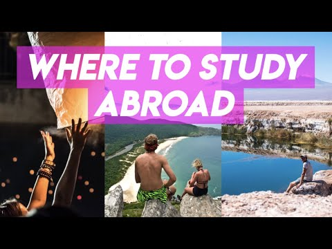 BEST COUNTRIES FOR STUDY ABROAD | Underrated Study Abroad Destinations