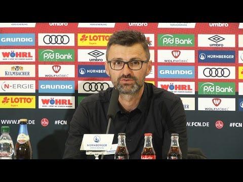 Pressekonferenz nach Aue
