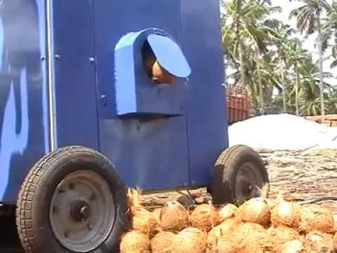 Coconut Dehusker - 2HP - Model 2010