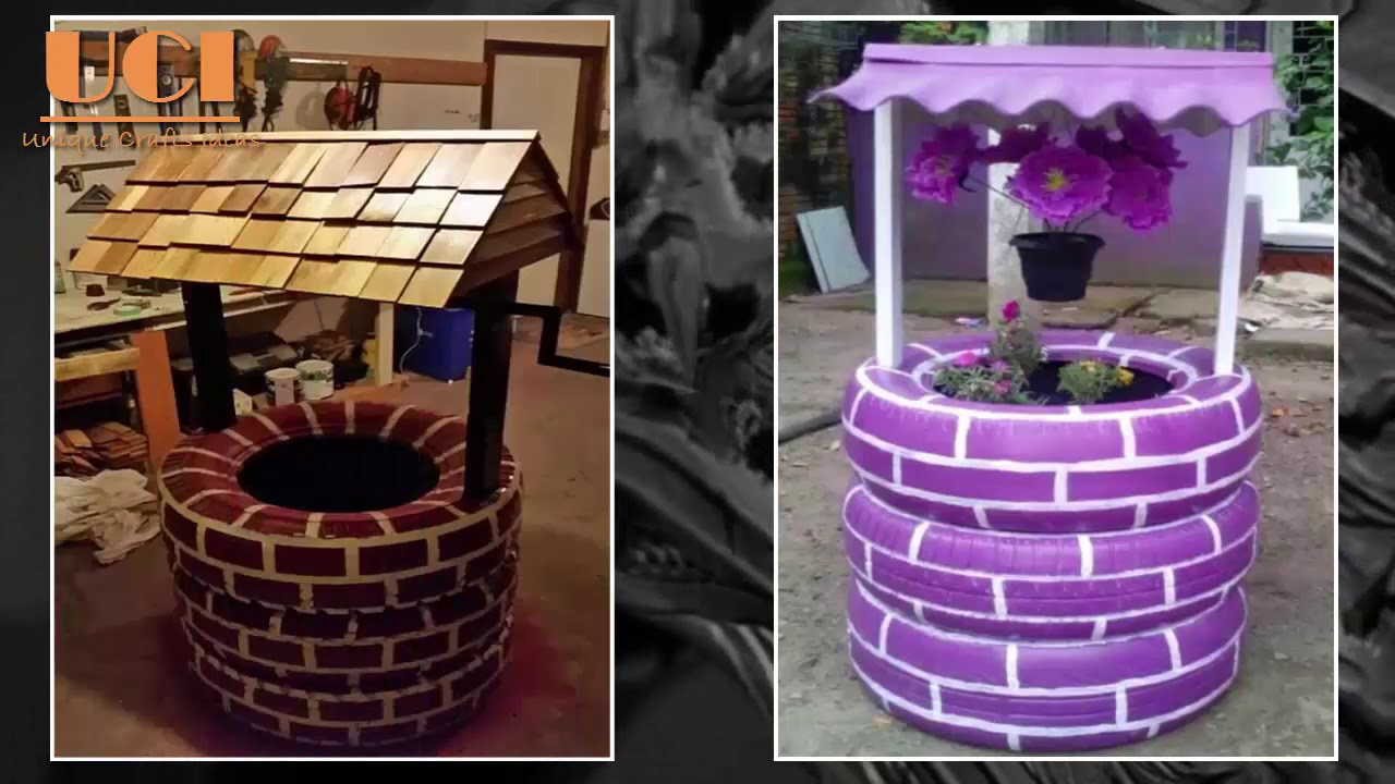 diy tire crafts creative awesome recycle