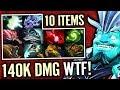 Storm Spirit - INSANE SHOCK DAMAGE - max 10 Slot Items - Dota 2 Gameplay by MOO