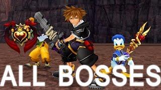 ALL Boss Fights  |  Kingdom Hearts 2 Final Mix