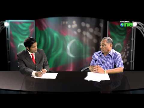 Jumhooree Dhuvahu Abbas Ibrahim Channel one gai. 11. 11. 2014 Part 2
