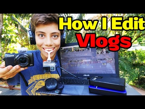 How I Edit & Organize My YouTube Vlogs!