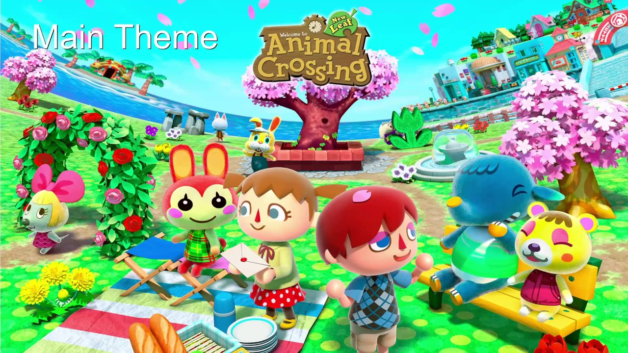 Animal Crossing New Leaf Full Day Music Youtube