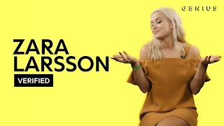 "Zara Larsson ""Lush Life"" Official Lyrics & Meaning 