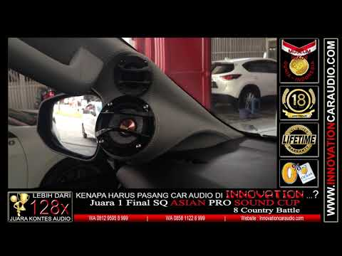 Paket audio mobil Fortuner 2018 | Innovation car audio Jakarta