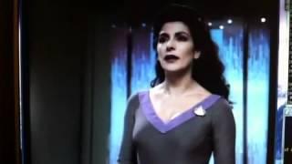 """Commander Riker """"hey, I"""