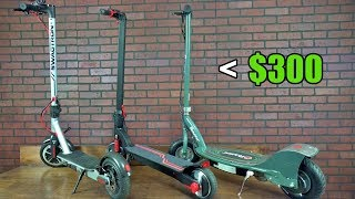 Top 3 Electric Scooters Under $300 | Electric Scooters | Scooters | E-Scooters