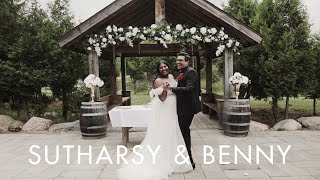 Sutharsy & Benny | Wedding Highlight | The Carvers Cottage, Ontario