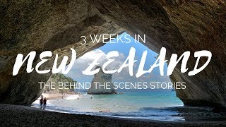 3 Weeks in New Zealand - Behind the Scenes Travel Stories | Going Awesome Places