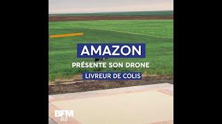 Amazon présente la dernière version de son drone livreur de colis