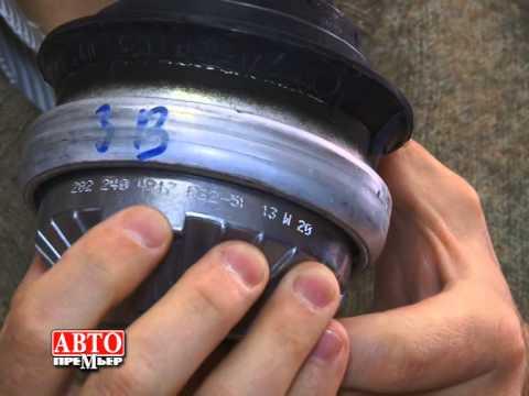 замена опор двигателя 211 мерседес