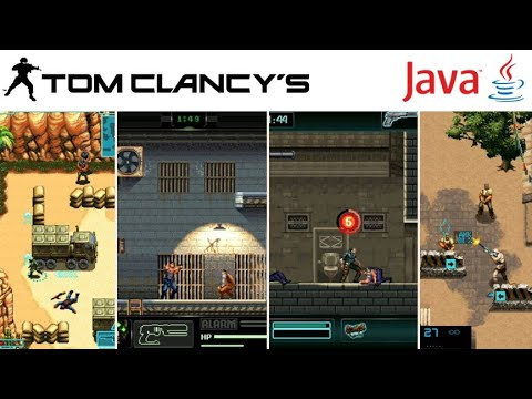 All Tom Clancy's Games In Java Mobile