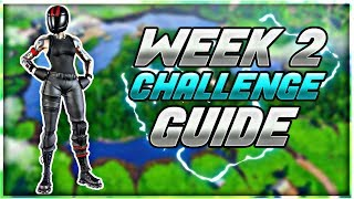 SEASON 5 WEEK 2 CHALLENGE GUIDE! - Fortnite Week 2 Challenges - SECRET WEEK 2 BATTLE STAR LOCATION