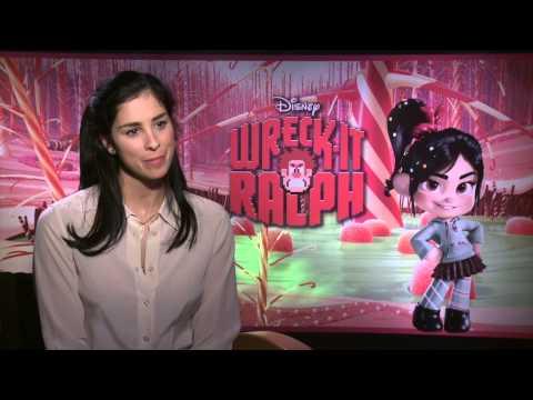 """Interview: Sarah Silverman - """"Vanellope von Schweetz"""""""