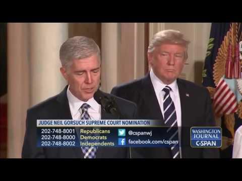 Nan Aron on Supreme Court Nominee Neil Gorsuch